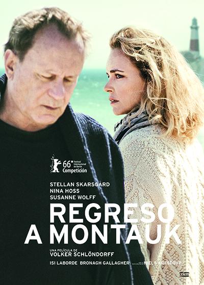 Imatge del cartell de la pel·lícula Regreso a Montauk