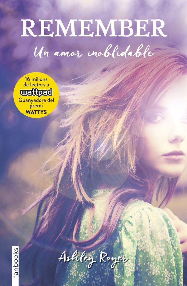 Portada de la novel·la Remember, un amor inolvidable d'Asliley Royer
