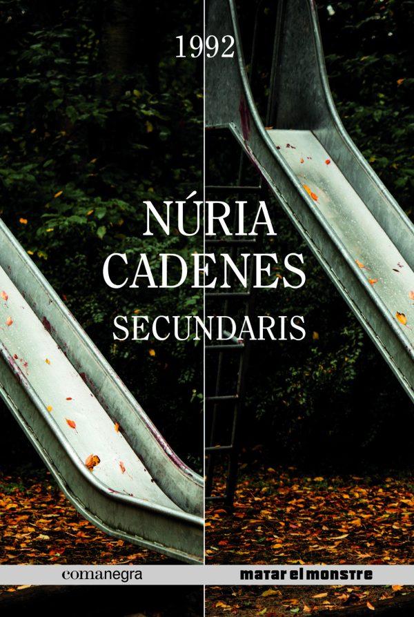 Portada de la novel·la Secundaris de Núria Cadenes
