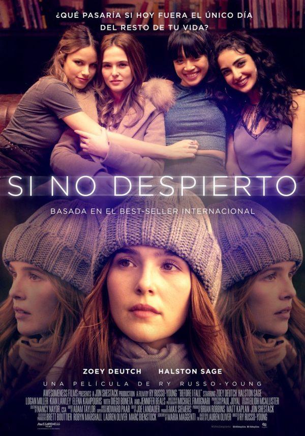 Imatge del cartell de la pel·lícula Si no despierto