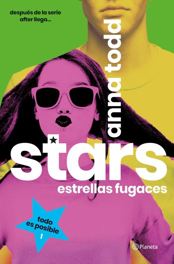 Portada de la novel·la Stars, estrellas fugaces d'Anna Todd