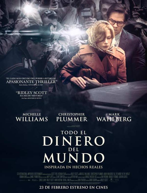 Imatge del cartell de la pel·lícula Todo el dinero del mundo