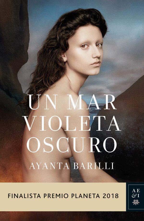 Portada de la novel·la Un mar violeta oscura d'Ayanta Barilli