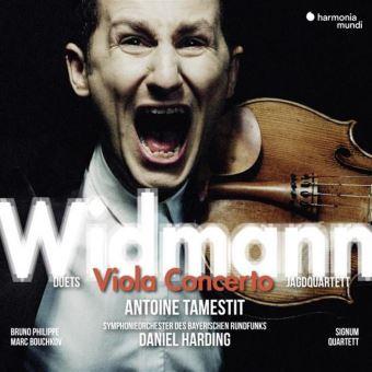 Portada del CD Viola Concerto de Jörg Widmann