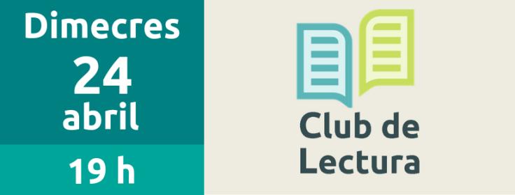 24 abril Club de lectura
