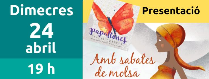 24 abril presentació llibre Joana Raspall