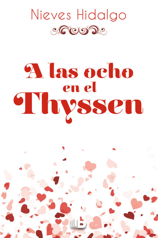 Portada de la novel·la A las ocho en el Thyssen de Nieves Hidalgo