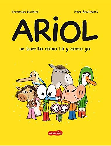 Portada del còmic Ariol, un burrito como tú y como yo d'Emmanuel Guibert