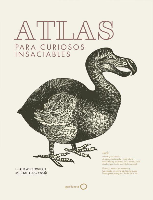 Portada del llibre Atlas para curiosos insaciables de Piotr Wilkowiecki i Michal Gaszynski