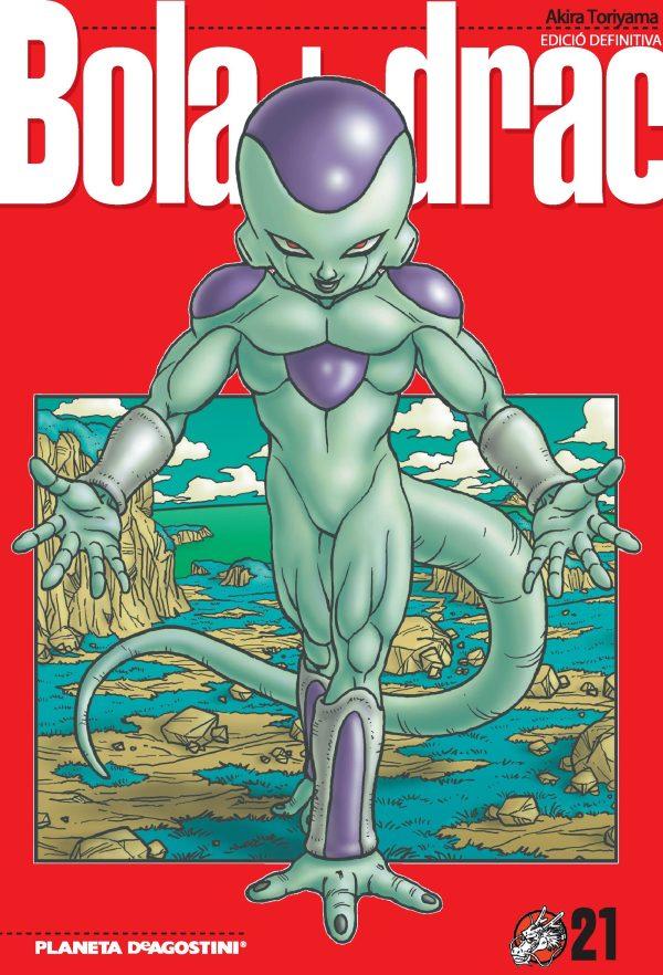 Portada del còmic Bola de drac 21
