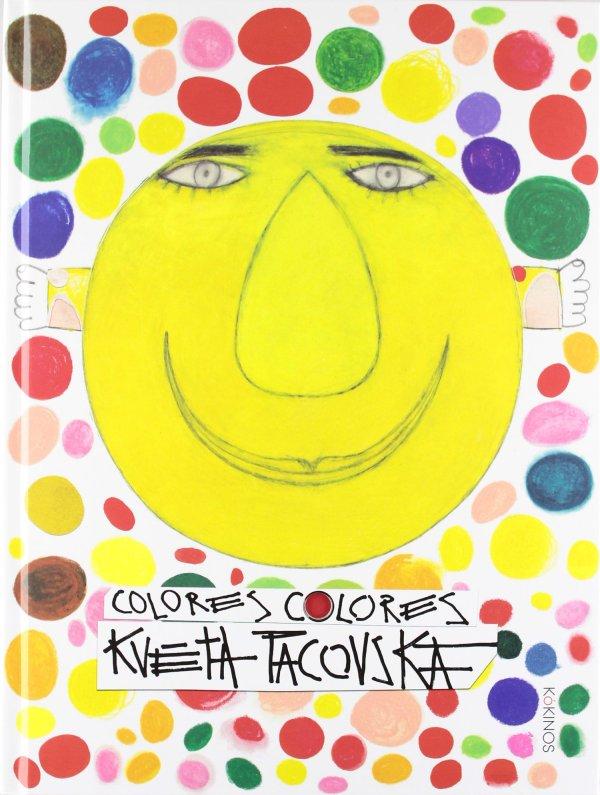 Portada del llibre infantil Colores colores de Kveta Pacovska