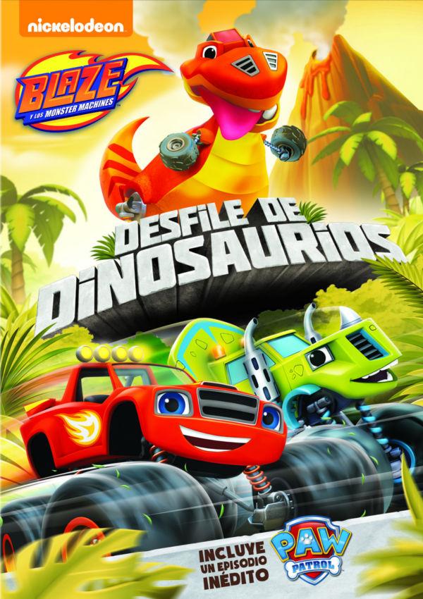 Cartell de la pel·lícula infantil Desfile de dinosaurios