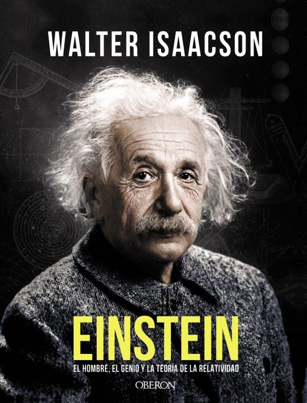 Portada del llibre Einstein de Walter Isaacson