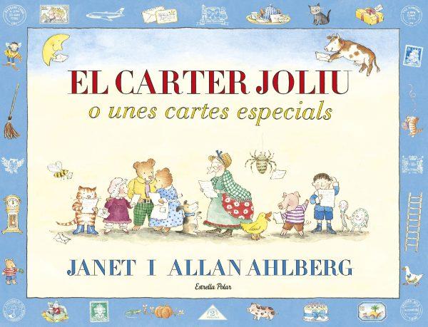 Portada del llibre infantil el carter Joliu o unes cartes especials de Janet i Allan Ahlberg