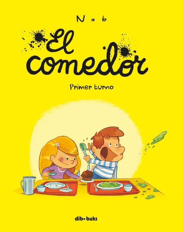 Portada del llibre infantil El comedor de Nob