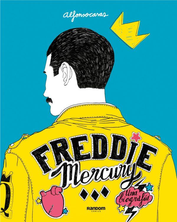 Portada del llibre Freddie Mercury d'Alfonso Casas