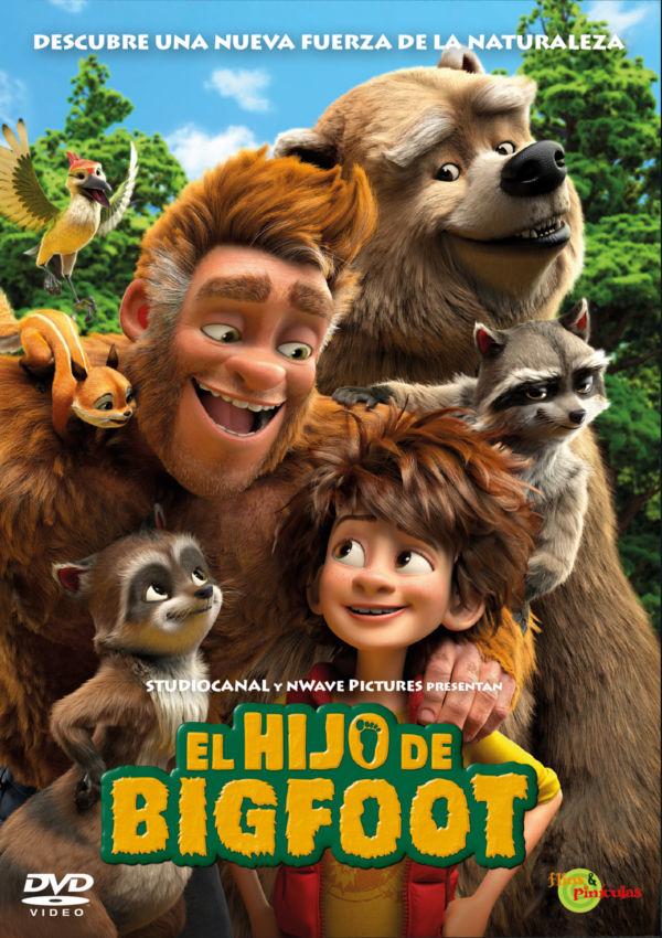 Cartell de la pel·lícula El hijo de Bigfoot