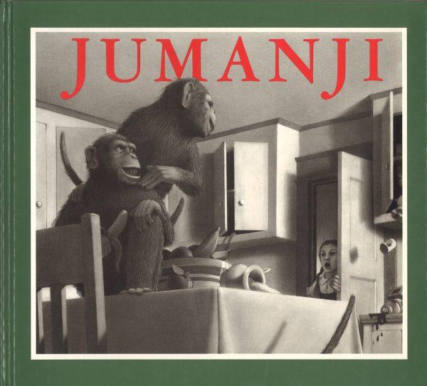 Portada del llibre infantil Jumanji