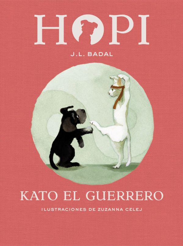 Portada del llibre infantil Hopi. Kato el guerrero de J.L. Badal
