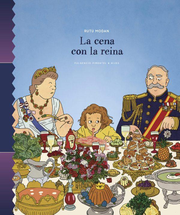 Portada del llibre infantil La cena con la reina de Rutu Modan