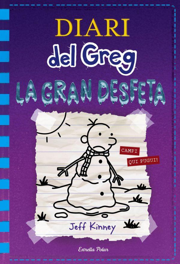 Portada del llibre infantil El diari de Greg. La gran desfeta de Jeff Kinney