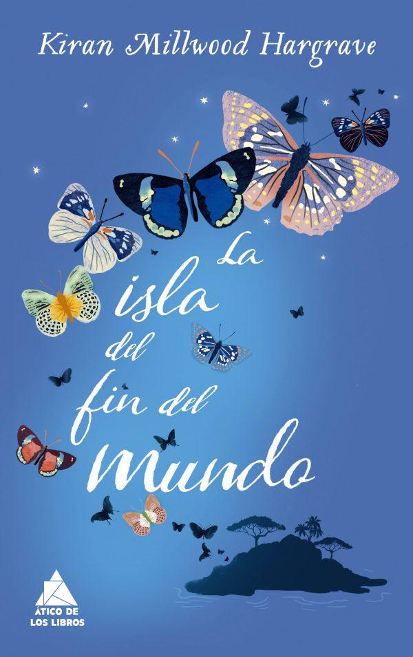 Portada de la novel·la La isla del fin del mundo de Kiran Millwood Hargrave