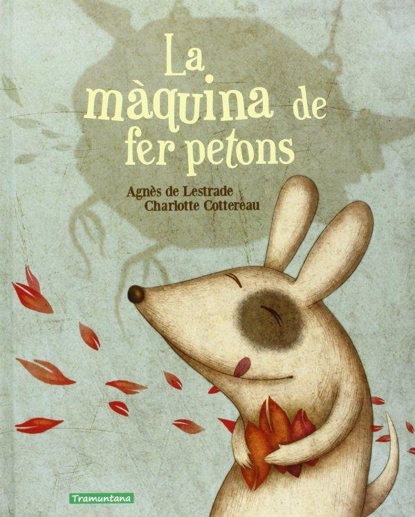 Portada del llibre infantil La màquina de fer petons d'Agnès de Lestrade i Charlotte Cottereau