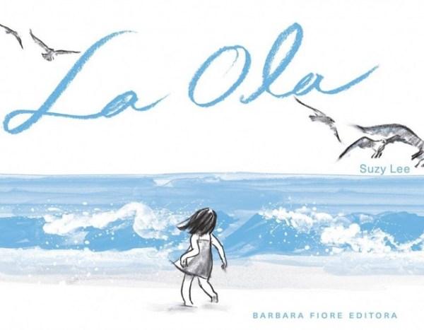 Portada del llibre infantil La ola de Suzy Lee