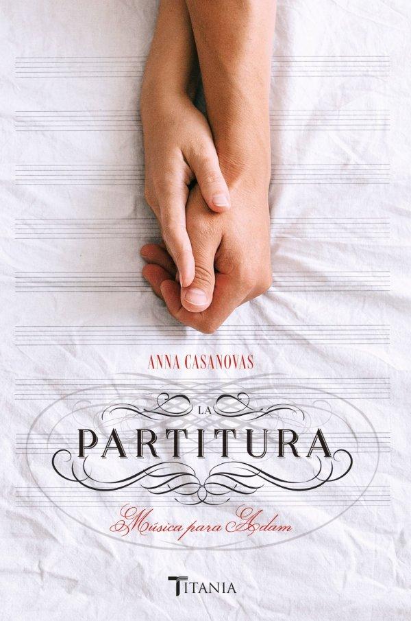 Portada de la novel·la La partitura d'Anna Casanovas