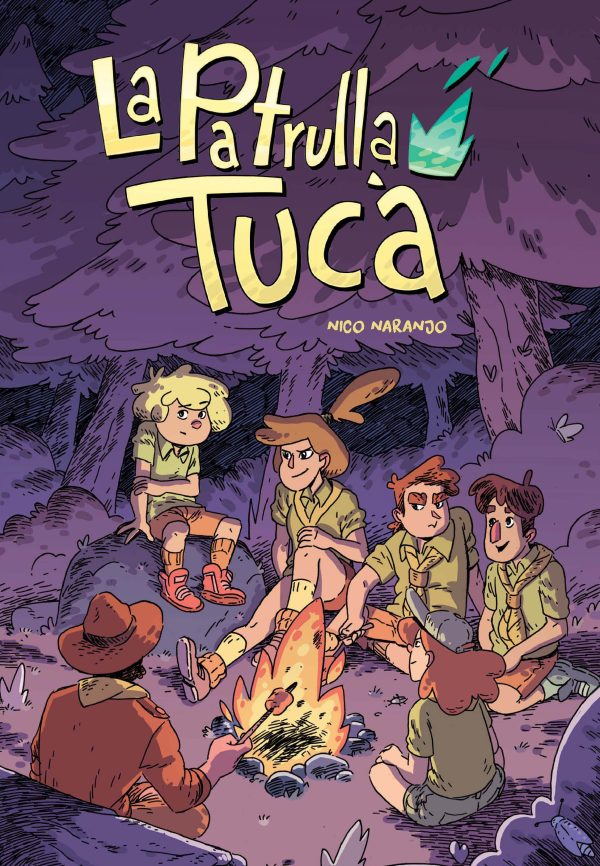 Portada del llibre infantil La patrulla Tucà de Nico Naranjo