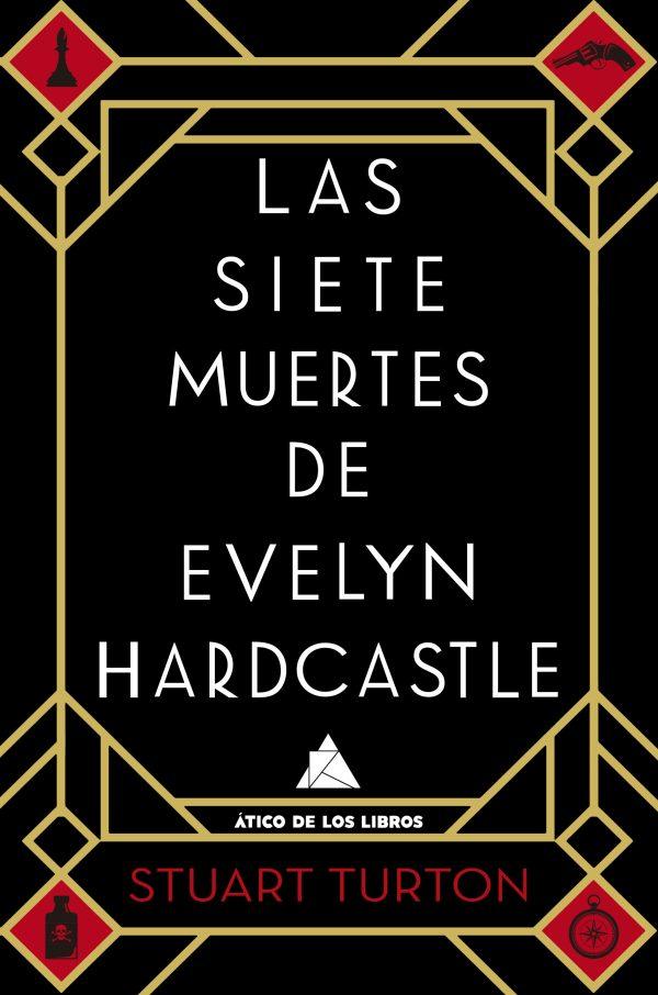 Portada de la novel·la Las siete mujeres d'Evelyn Hardcastle