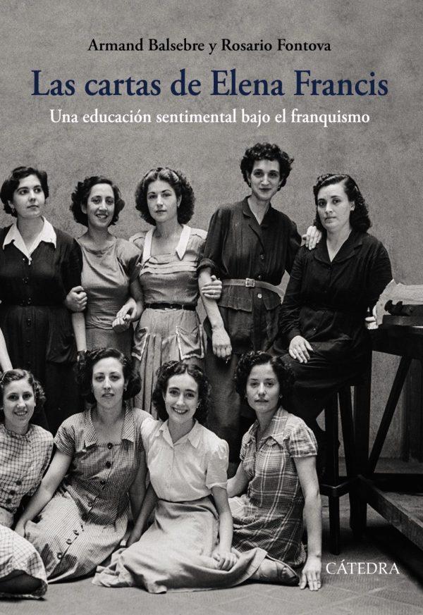 Portada del llibre Las cartas de Elena Francis d'Armand Balsebre i Rosario Fontova