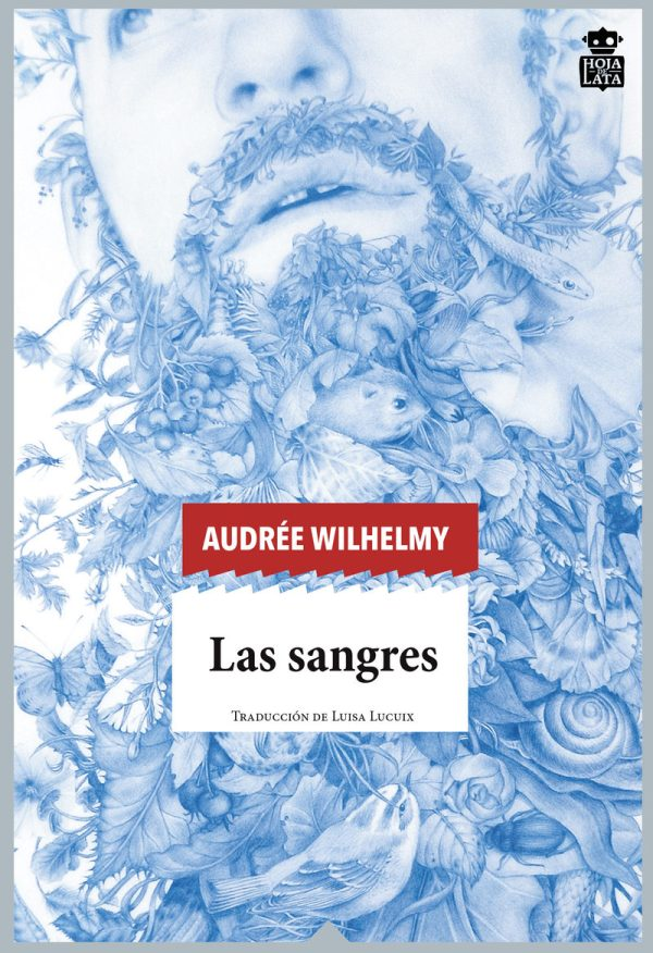 Portada de la novel·la Las sangres d'Audré'Wilhelmy