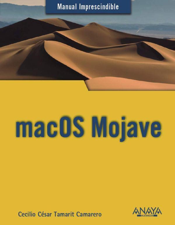 Portada del llibre Manual imprescindible de MacOs Mojave