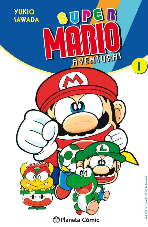 Portada del còmic infantil Super Mario aventuras (1)