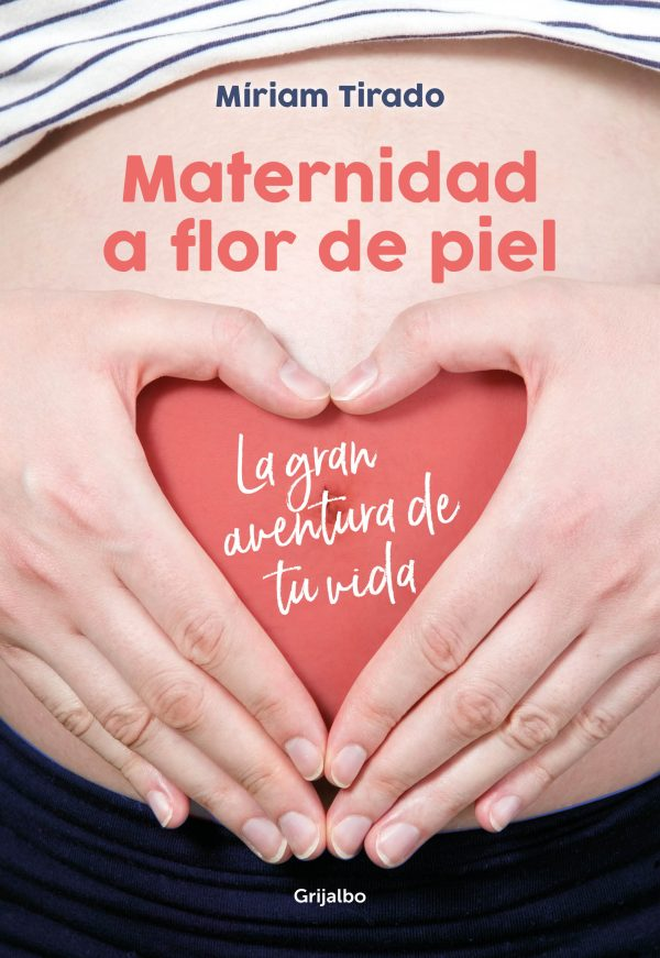 Portada del llibre Maternidad a flor de piel de Míriam Tirado