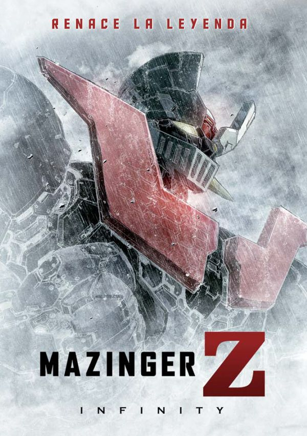 Cartell de la pel·lícula infantil Mazinger Z infinity