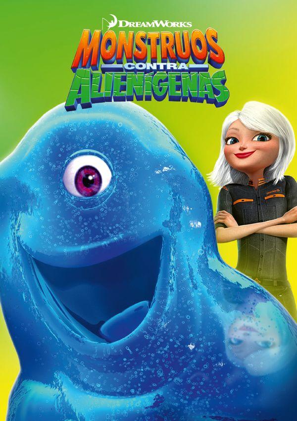 Cartell de la pel·lícula infantil Monstruos y alienígenas