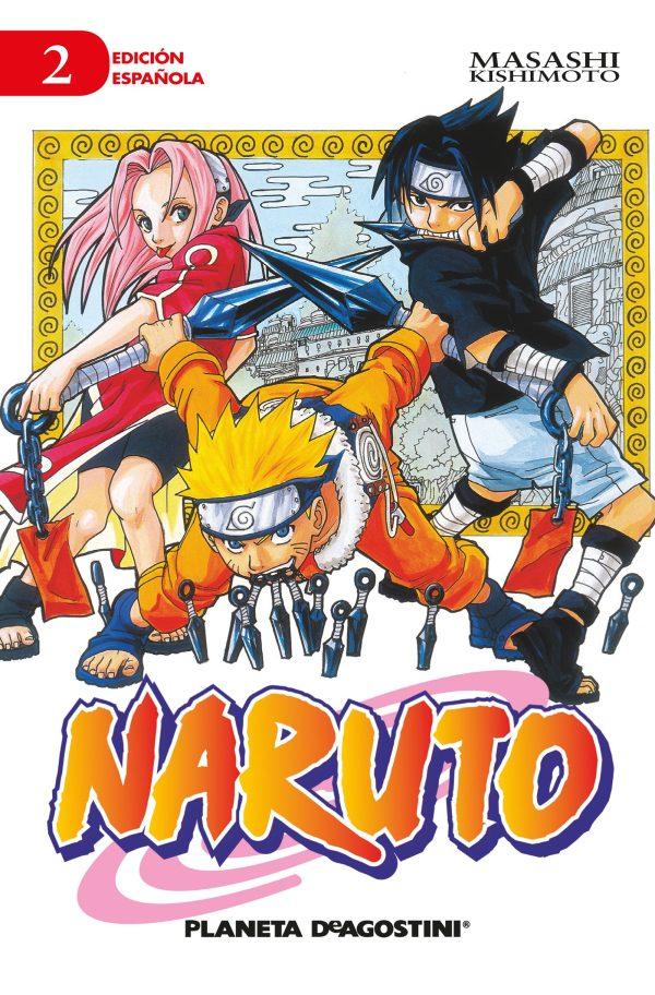 Portada del còmic infantil Naruto (2) de Masashi Kishimoto