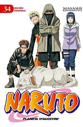 Portada del còmic infantil Naruto (34) de Masashi Kishimoto