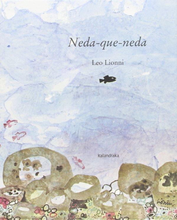 Portada del llibre infantil Neda que neda de Leo Lionni