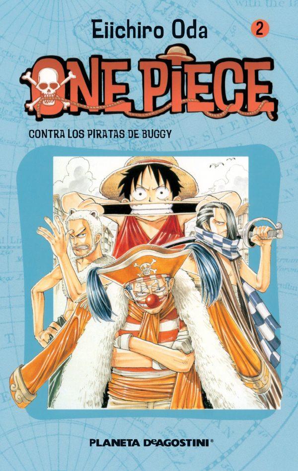 Portada del còmic infantil One Piece (2) d'Eiichiro Oda