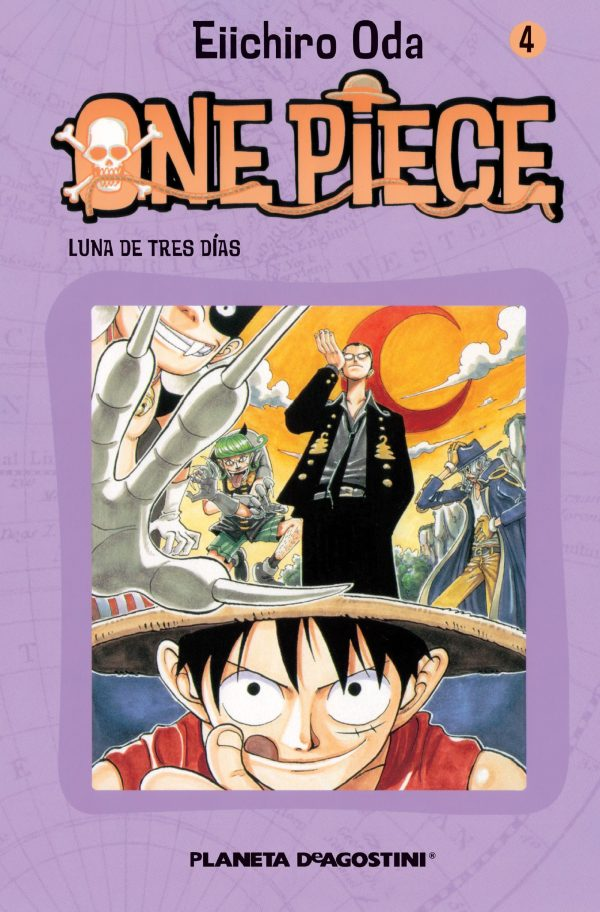 Portada del còmic infantil One Piece (4) d'Eiichiro Oda