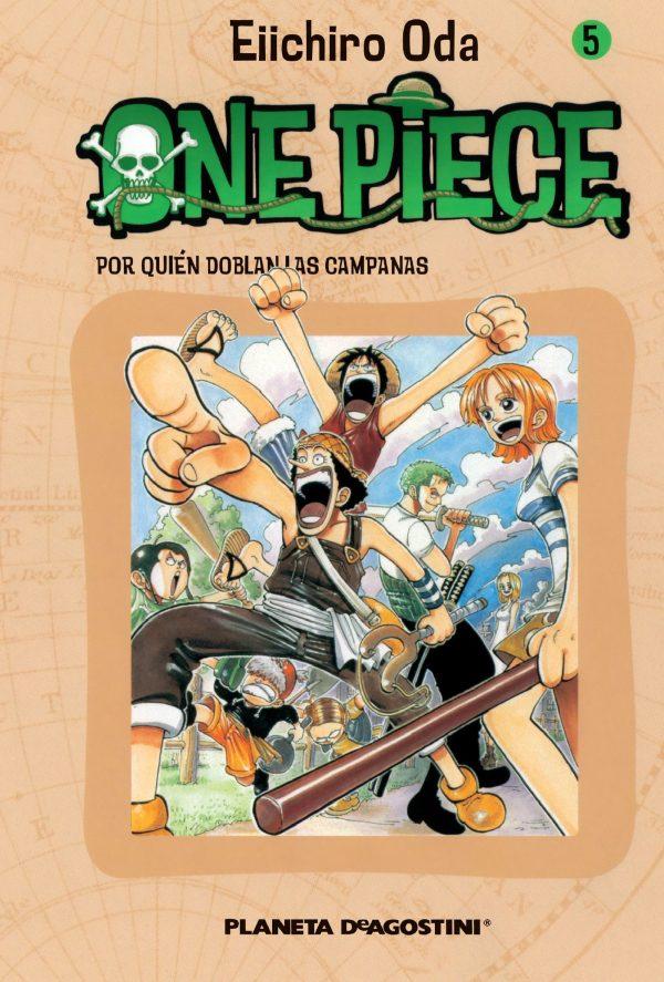 Portada del còmic infantil One Piece (5) d'Eiichiro Oda