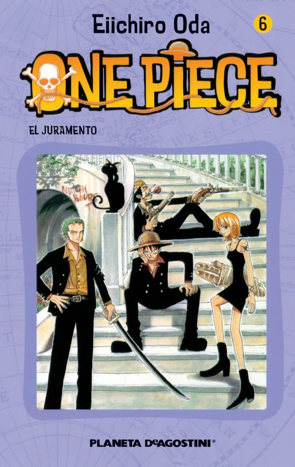 Portada del còmic infantil One Piece (6) d'Eiichiro Oda