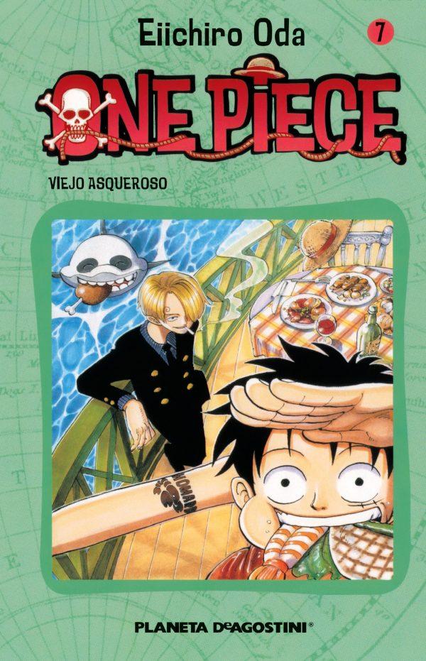 Portada del còmic infantil One Piece (7) d'Eiichiro Oda