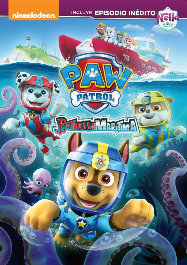 Cartell de la pel·lícula infantil Patrulla marítima