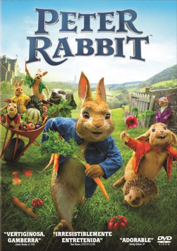 Cartell de la pel·lícula infantil Peter Rabbit