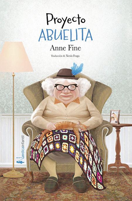 Portada del llibre infantil Proyecto abuelita d'Anne Fine