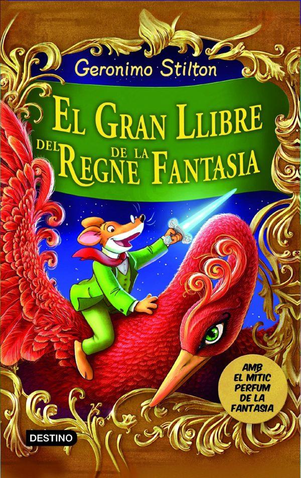 Portada del llibre infantil El Gran Llibre del Regne de la Fantasia de Geronimo Stilton